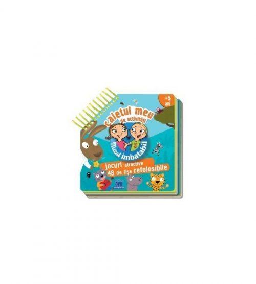 Micul Imbatabil: Caietul meu de activitati (copii +5 ani) (ed. tiparita)