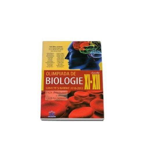 Olimpiada de biologie clasele XI-XII subiecte si bareme 2010-2013