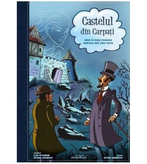Castelul din Carpati: Album de benzi desenate (ed. tiparita)