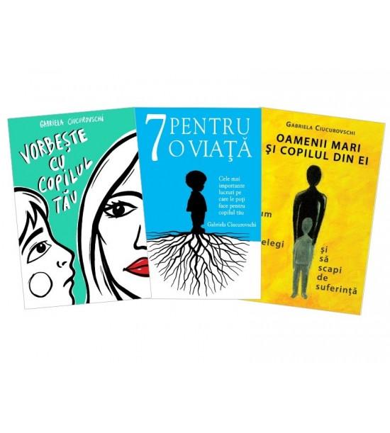 Pachet cu 3 carti autor Gabriela Ciucurovschi