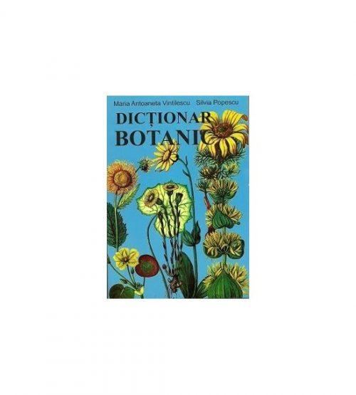 Dictionar botanic (ed. tiparita)