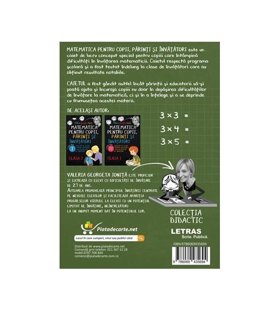 Matematica pentru copii, parinti si invatatori / auxiliar Clasa a II-a, caietul 1