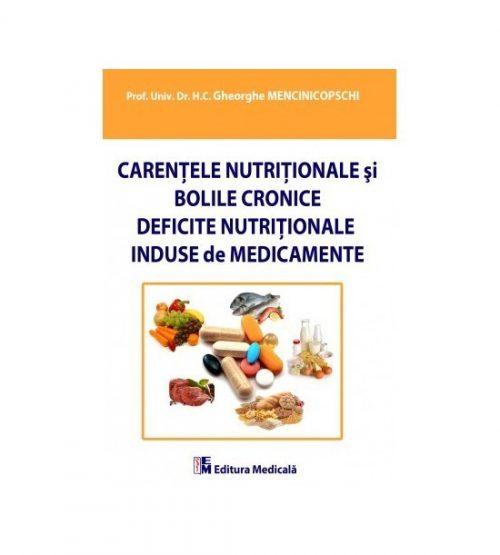 Carentele nutritionale si bolile cronice deficite nutritionale induse de medicamente