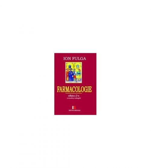 Farmacologie (ed. tiparita) - Ion Fulga