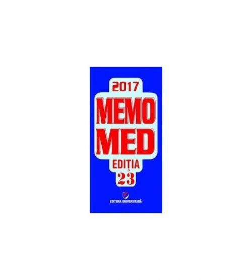 Memomed 2017 (ed. tiparita) - Dumitru Dobrescu