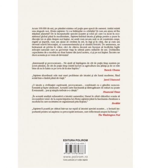 Sapiens - Scurta istorie a omenirii (ed. tiparita)