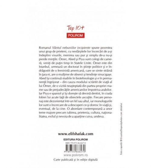 Sfantul nebuniilor incipiente - Elif Shafak