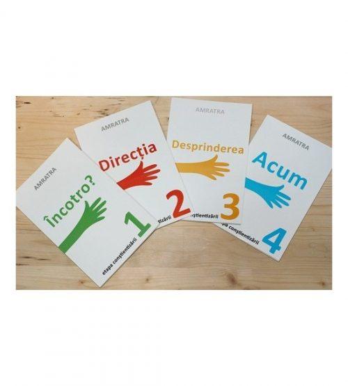 Set 4 carti Amratra - Etapa Constientizarii