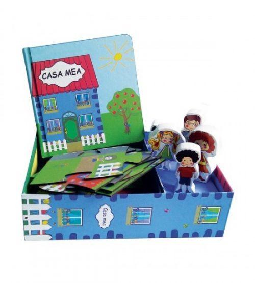 Casa mea (copii 4+ ani) (ed. tiparita + puzzle)