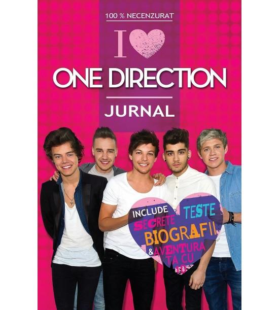 100% Necenzurat - I love One Direction - Jurnal (ed. tiparita)