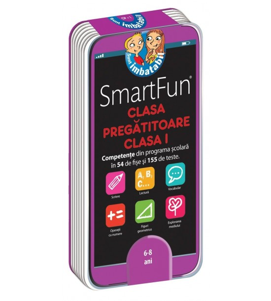 SmartFun Clasa pregatitoare-Clasa I: 155 de teste