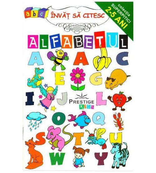 Invat sa citesc alfabetul 2-5 ani