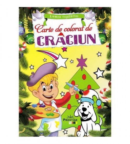 Carte de colorat de Craciun - Lumea copilariei