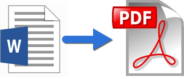 Transformare manuscris Word în PDF
