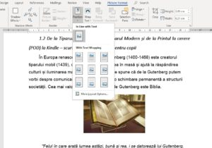 selectarea functiei in linie cu textul