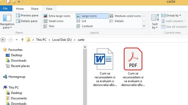 Publicare carte - Ai reusit sa creezi un PDF