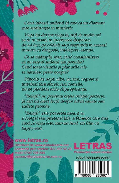 Relatii - Petronela Macaneata - Editura Letras 2020