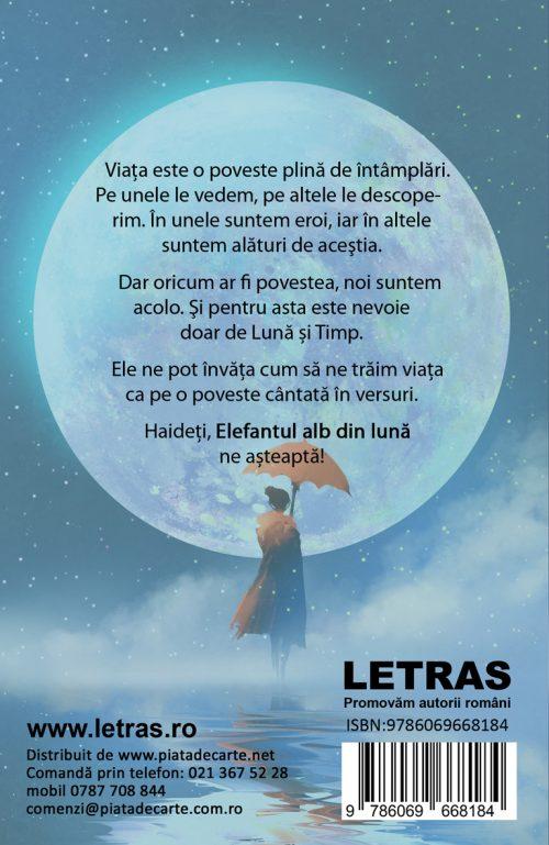 Elefantul alb din luna - C.H. Sonia - Editura Letras 2020