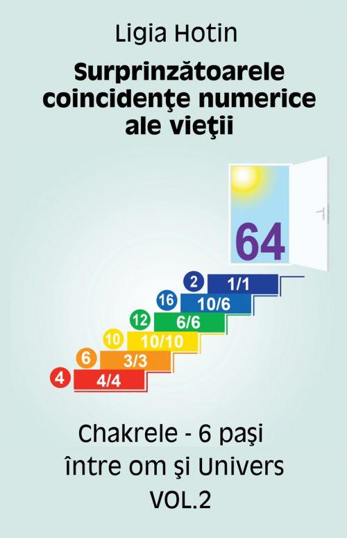 Chakrele - 6 pasi intre om si univers - Ligia Hotin