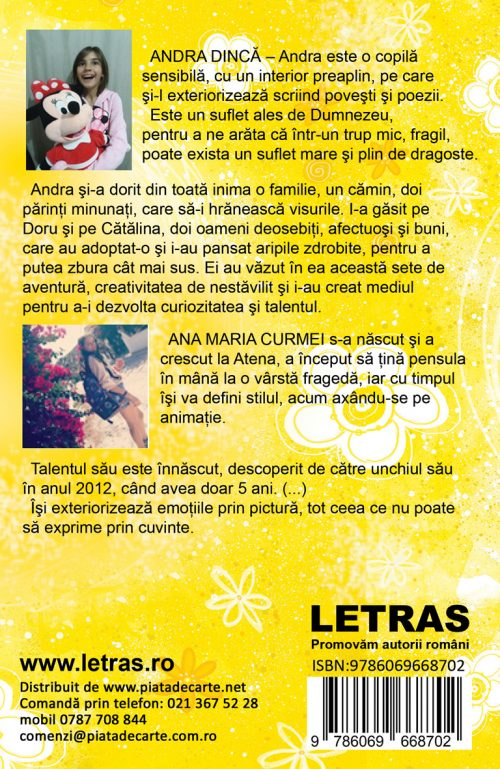 Andra de pui si peripetiile sale - Andra Dinca - Editura Letras