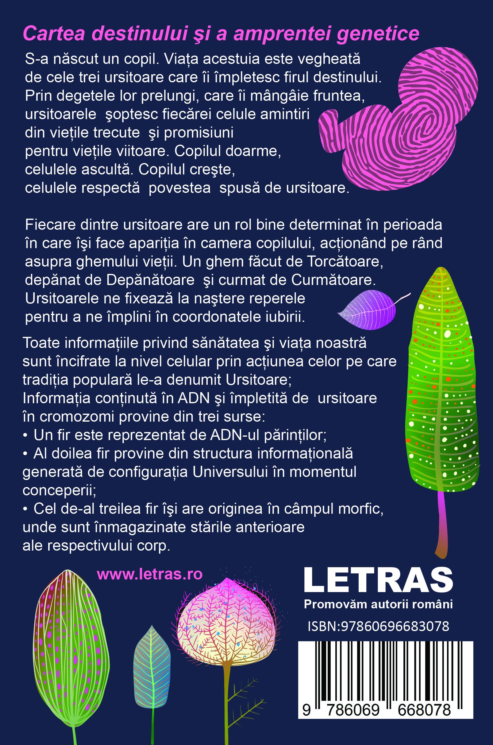 Degetele ursitoarelor - Ligia Horin - Editura Letras
