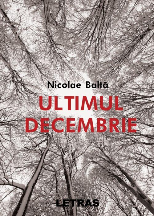 Ultimul decembrie - Nicolae Baltă - Editura Letras