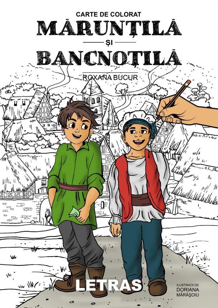 Bucur Roxana_Maruntila si Bancnotila_carte de colorat