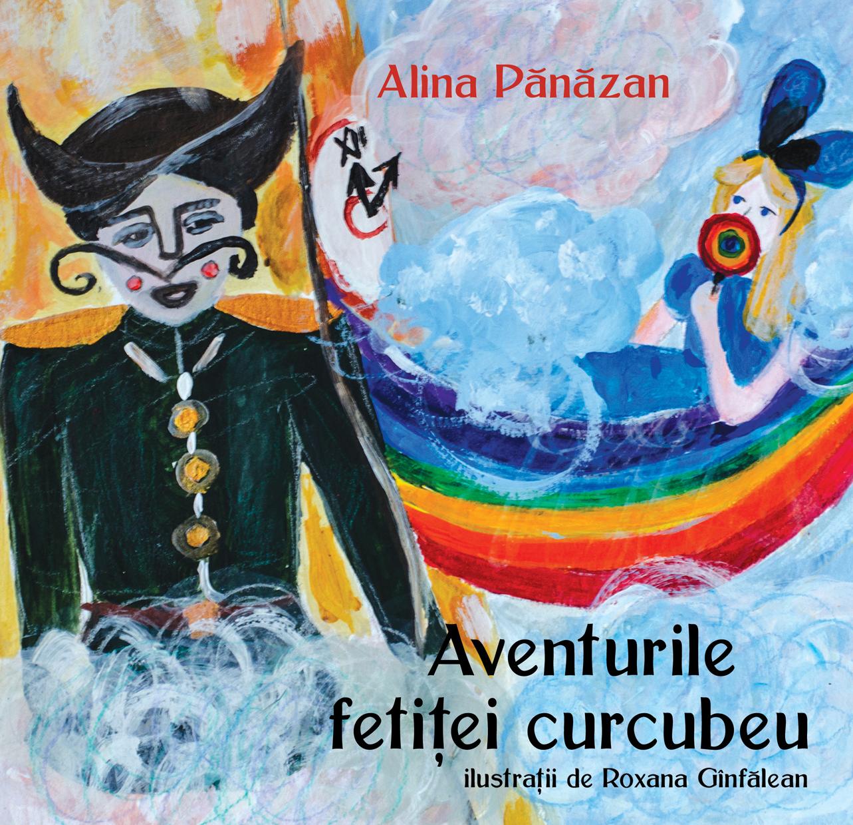 Aventurile fetitei curcubeu-Alina Pănăzan-Editura Letras-Gînfălean