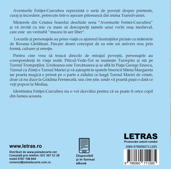 Aventurile fetitei curcubeu-Alina Pănăzan -Roxana Gînfălean-Letras