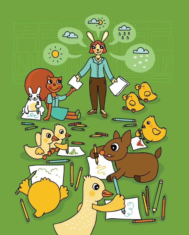 pagină de interior 2_Zora, o mică veveriță