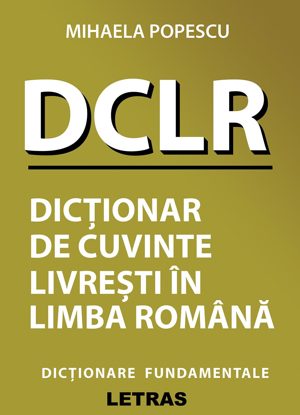 coperta 1 DCLR Mihaela Popescu 150